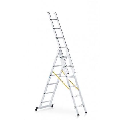 Аренда ZARGES трехсекционной комбинированной лестницы профессиональной серии Z300 42539 3х9
