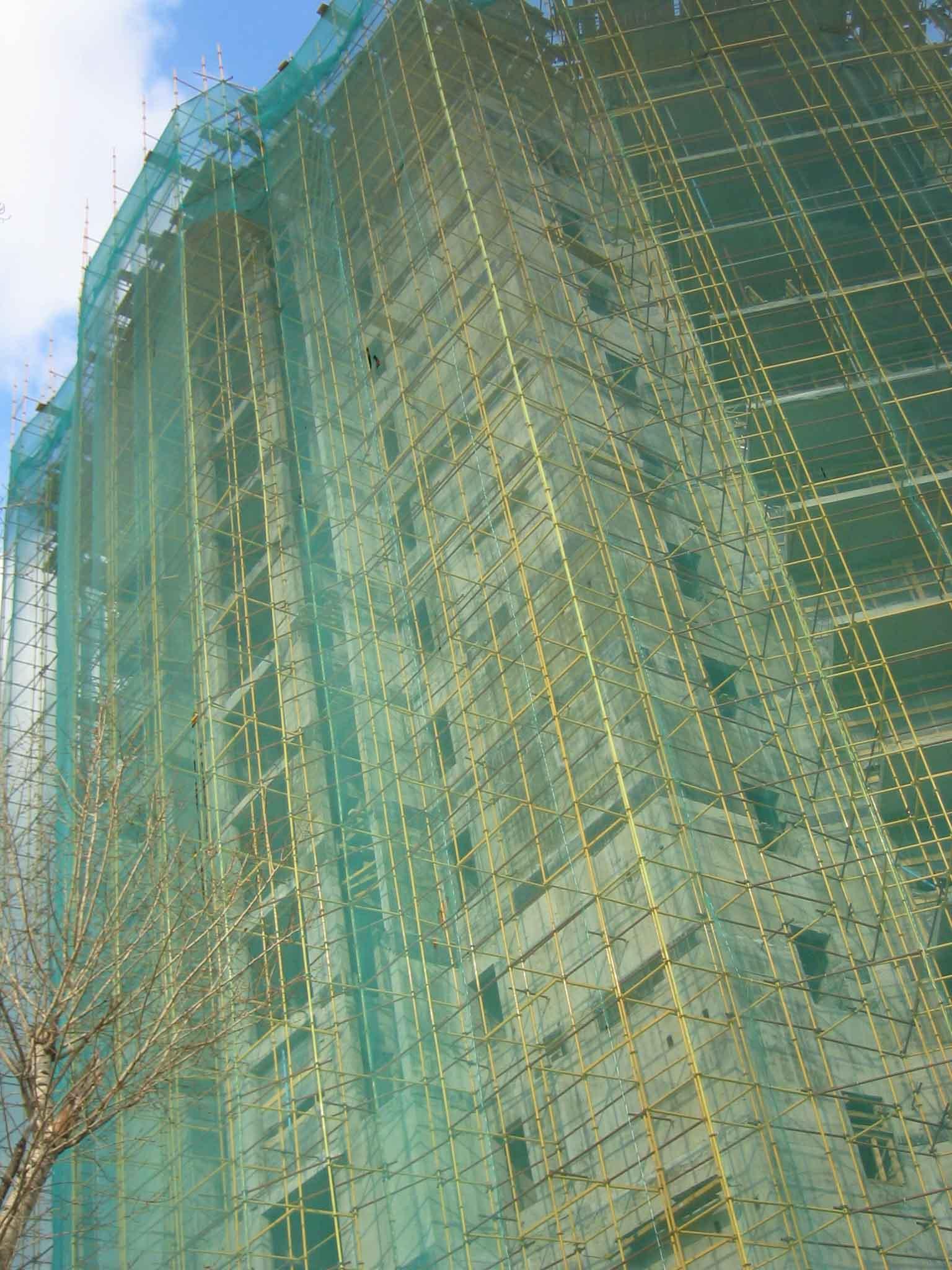 Сетки и тенты для укрытия строительных объектов